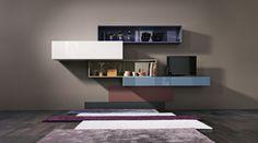 Система 36e8, шедевр дизайнерской мебели LAGO, позволяет разместить настенные…