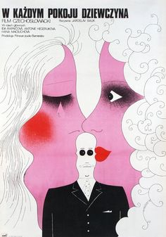 Girl in Each Room, Polish Movie Poster