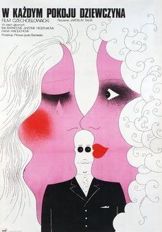 Girl in Each Room, Polish Movie Poster