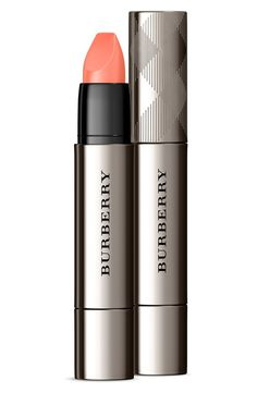 This rosy apricot color from Burberry is perfection! The lipstick is designed with a unique flat-top bullet that hugs every contour and follows every curve as it draws, effortlessly defining, shaping and enhancing from corner to corner.