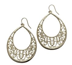 Filigree Earrings - Mialisia  http://carolyn.mialisia.com