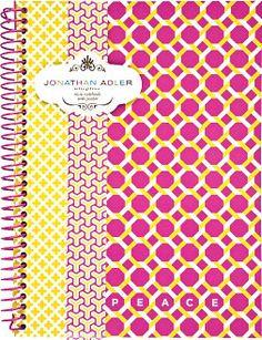 links print #adler #pink #yellow