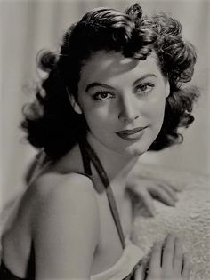 """gatabella: """"Ava Gardner by Clarence Sinclair Bull, early 1940s """""""