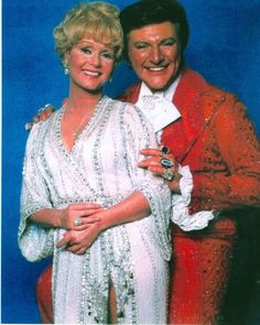 piano man, Liberace with actress/dancer/singer, Debbie Reynolds