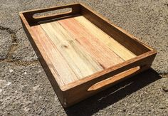 Hey, I found this really awesome Etsy listing at https://www.etsy.com/listing/228241370/rustic-tray-pallet-wood-tray-with-a