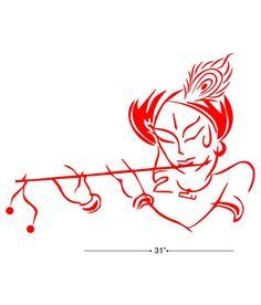 vector sri krishna playing flute stock illustration royalty free illustrations stock clip. Black Bedroom Furniture Sets. Home Design Ideas