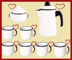 Lindoooo Kit de café Branco Apaixonante!!!!!!!!!!!!    Venha conferir!!!!!  http://www.vendaseletro.com/index.php?link=produto&cod_produto=175&cod_foto=547&categoria=15