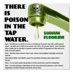 There Is Poison In The Tap Water.