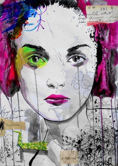 Saatchi Online Artist Loui Jover; Drawing, do you want me to want you? #art