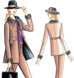 F3218 | Marfy Jacket | Jackets / Vests | Butterick Patterns