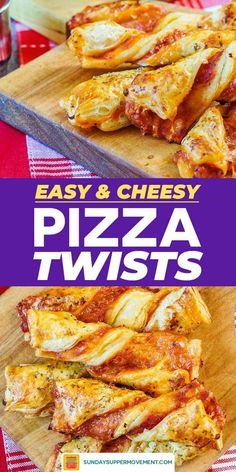 Puff Pastry Pizza Twists are PERFECT for all things fall such as tasty BACK TO… – kids baking ideas Puff Pastry Recipes Savory, Puff Pastry Pizza, Puff Pastry Appetizers, Finger Food Appetizers, Easy Finger Food, Cheese Pastry, Puff Pastry Sheets, Easy Appetizer Recipes, Pizza Pizza