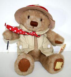 Amazing Adventures Teddy Tum Tum Applause Stuffed Plush Teddy Bear Safari TumTum #Applause