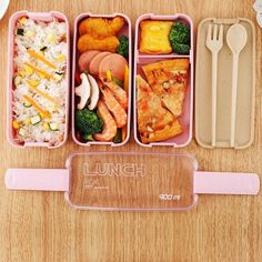Stainless Steel Leakproof Lunch Box Bento Lock Container and Insulated Lunch Bag. Japanese Bento Box Stackable Portable Leakproof LunchBox with Lunch Bag for Kids. Lunch Box Recipes, Gourmet Recipes, Healthy Recipes, Lunch Ideas, Clean Eating, Healthy Eating, Healthy Food, Lunch Box Containers, Little Lunch