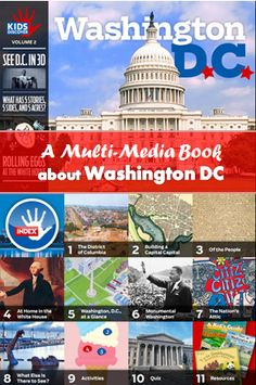 multi-media book app about Washington DC for kids #kidsapps (check price, may not be free anymore)