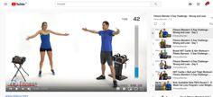 FITNESS BLENDER Addon   tréningy pre  a  zadarmo. Kettlebell, Pilates, Fitness, Youtube, Pop Pilates, Kettlebells, Youtubers, Youtube Movies