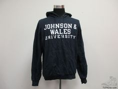 Vtg Champion Johnson & Wales University Wildcats Hoody Sweatshirt sz L Large JWU #Champion #JohnsonWalesWildcats