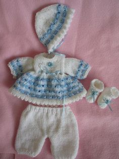 You have to see 10 inch Emmy Doll Knit Dress Set on Craftsy!