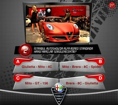 Alfa Romeo Q/A Facebook App by Caner Erdogan, via Behance