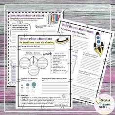 Η δασκάλα της διπλανής πόρτας: Ταξιδεύω στο διάστημα:Δραστηριότητες για εκτύπωση και μέσω google slides Bullet Journal, Google