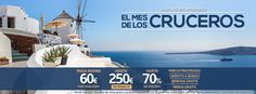 Mes de los cruceros, ¡Hasta el 29 de Febrero!  #cruceros #viajes #turismo #agencia #hernani