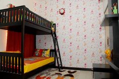 Kid's room at Aster Court apartments Real Estate Development, News India, Aster, Bunk Beds, Modern Architecture, Apartments, Kids Room, Toddler Bed, Luxury