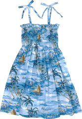 b76d965475 Islanders Girls Smocked Tube Top Sundress