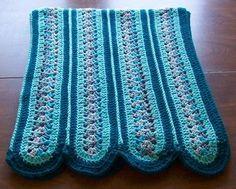 Crochet Mile a Minute Afghan