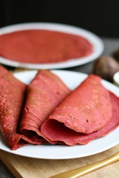 Boekweit bieten wraps - Beaufood Healthy Sweets, Healthy Snacks, Healthy Recipes, Lunch Snacks, Lunch Wraps, Low Calorie Lunches, Pita Wrap, Foods With Gluten, Beetroot