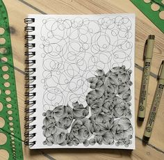 Doodle Patterns 26317979059555318 - New doodle! Zentangle Drawings, Doodles Zentangles, Art Drawings Sketches, Abstract Drawings, Doodle Drawings, Easy Drawings, Cartoon Drawings, Doodle Patterns, Zentangle Patterns