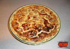 cocina facil y elaborada: PASTEL SALADO 4 QUESOS Y NUECES