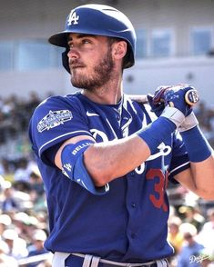 The MVP sends one over the fence! The post Los Angeles Dodgers: Focused. The MVP sends one over the fence!& appeared first on Raw Chili. Hot Baseball Players, Baseball Guys, Dodgers Baseball, Mlb Players, Dodgers Girl, Dodgers Fan, Bellinger Dodgers, Dodgers Nation, Baseball Wallpaper