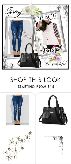 """Rosegal 59"" by melani-fashion ❤ liked on Polyvore featuring Global Views, women, rosegal and best_shop"