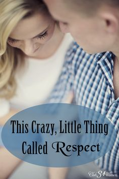 Did you know your husband wants respect even more than he wants love? Crazy, huh? Well, it's true and here's how to give him the respect he needs from you. This Crazy, Little Thing Called Respect ~ Club31Women