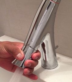 How to fix a sink faucet Clogged Sink Bathroom, Small Bathroom Sinks, Bathroom Design Small, Sink Faucets, Home Repair, Utility Sink Faucets, Home Improvement, Home Improvements, House Remodeling
