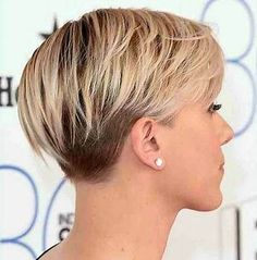 Resultado de imagen de Short Haircuts for Women Over 50 Back View