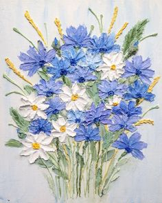 VK is the largest European social network with more than 100 million active users. Sculpture Painting, Texture Painting, Vincent Van Gogh, Flower Art, Art Flowers, Pretty Pictures, Photo Wall Art, Stencils, Glass Vase