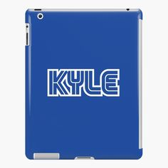 'Kyle Gamer Player' iPad Case/Skin by el-patron Ipad 4, Ipad Case, Gamer Names, Lip Designs, Product Launch, Printed, Awesome, People, Folk