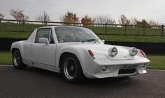White Porsche 916
