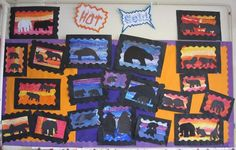 Hot and Cold - classroom display