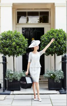 A fabulous embroidered tulle outfit by Bel Air from Ian Stuart London. Ian Stuart, Spring Summer, Summer 2014, Style And Grace, Ladies Day, Elegant, Mother Of The Bride, Lady, Beautiful Dresses
