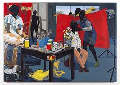EXHIBITION: Kerry James Marshall, Look See, at David Zwirner (Oct 11 - Nov 22, 2014)