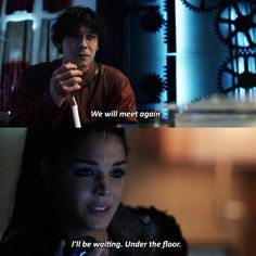 Bellamy Blake and Octavia Blake ||The 100 season 4 episode 13 - Praimfaya || Blake Siblings || Bob Morley and Marie Avgeropoulos