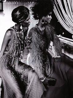 Black Allure by Emma Summerton in Vogue Italia