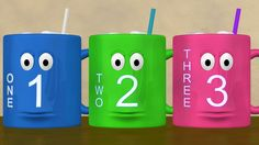 Learn numbers 1 to 10 with these talking mugs.