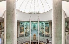 Blog o mediach społecznościowych : Wirtualny spacer po bibliotece Uniwersyteckiej w Warszawie