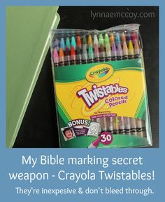 I never would of thought of using crayons. If you are prone to distraction and have a hard time keeping up with your Bible reading, these Bible reading tips for the easily distracted should help you. Bible Study Tips, Bible Study Journal, Scripture Study, Bible Lessons, Art Journaling, Faith Bible, My Bible, Bible Art, Bible Scriptures