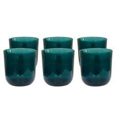 Six Glasses by Kaj Franck for Nuutajärvi, c1954