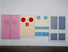 Gary Hume - Four Doors (1)