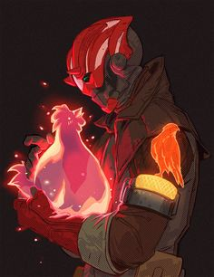 """My warlock character from Destiny 2 game and a """"poultry petting"""" emote which I think is hilarious. Destiny Cayde 6, Destiny Video Game, Destiny Comic, Destiny Hunter, Destiny Bungie, Destiny Fallen, Cry Anime, Manga Anime, Character Art"""