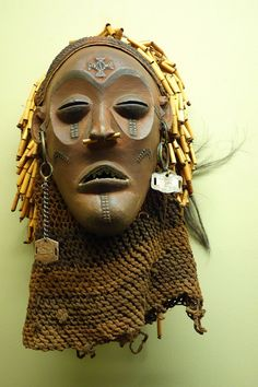 Dance mask (pwo) - Chokwe - Royal Museum for Central Africa - DSC05873.JPG